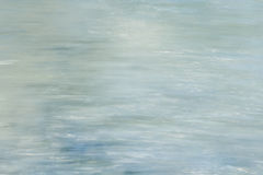 Abstract background motion blur of the water. Royalty Free Stock Photos