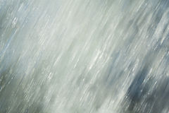Abstract background motion blur of the water. Stock Image