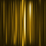 Abstract background. Motion yellow horizontal lines. Stock Photography