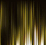 Abstract background. Motion yellow vertical lines. Vector techno Royalty Free Stock Photo