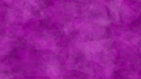Abstract background of moving triangles pink color. Made in After Effects.