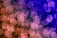 Abstract background multi colored bokeh effect royalty free stock photo