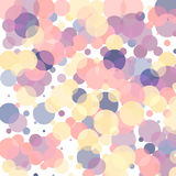 Abstract background. With multi-colored bubbles and circles Stock Photography