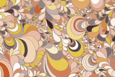 Abstract background from multi-colored figures. Vector stock illustration