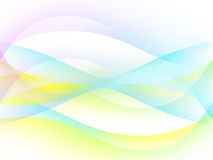 Abstract background with multi-coloured lines. Abstract background with shone bright multi-coloured lines Vector Illustration