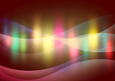 Abstract background with multi-coloured lines Stock Image