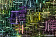 Abstract background. Multicolor computer created abstract background Royalty Free Stock Photography