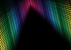 Abstract Background - Multicolor Equalizer Royalty Free Stock Photography