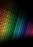 Abstract Background- Multicolor Equalizer Stock Photography
