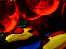 Glass abstract Stock Photography