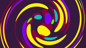 Whirlpool Motion Circle Gradient Background