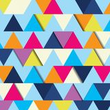 Abstract background of multicolor triangle Royalty Free Stock Photos