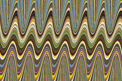 Abstract background multicolor volumetric bending Royalty Free Stock Images