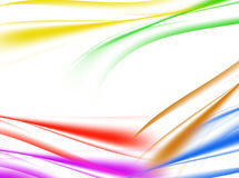 Abstract background of multicolor wave on white. Abstract background of  wave on white , illustration Stock Photography