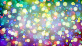 Abstract background with multicolored bokeh effect. Abstract background with bokeh effect. Blurred defocused multicolored lights. Colored bokeh lights with Stock Illustration