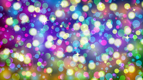 Abstract background with multicolored bokeh effect Stock Photos