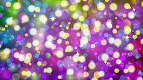 Abstract background with multicolored bokeh effect. Abstract background with bokeh effect. Blurred defocused multicolored lights. Colored bokeh lights with Royalty Free Illustration