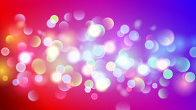 Abstract background with multicolored bokeh effect. Abstract background with bokeh effect. Blurred defocused multicolored lights. Multicolored bokeh lights on Royalty Free Illustration