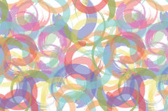 Abstract background with multicolored circles Royalty Free Stock Photo