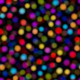 Abstract background with multicolored dots. Vector Stock Photography