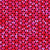 Abstract background of multicolored flowers. Vector illustration royalty free illustration