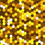 Abstract background of multicolored hexagon. Vector illustration Royalty Free Stock Photos