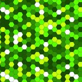 Abstract background of multicolored hexagon. Vector illustration Stock Photo