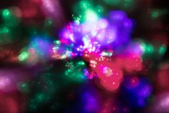 Abstract background of multicolored iridescent flashes. Abstract background of multicolored iridescent balls and flashes Stock Images