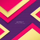 Abstract background. Multicolored shapes shadow Royalty Free Stock Image