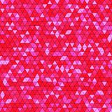 Abstract background with multicolored triangles. Vector illustration Royalty Free Stock Photos