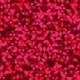 Abstract background with multicolored triangles. Vector illustration Royalty Free Stock Photo