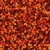 Abstract background with multicolored triangles. Vector illustration Stock Photo