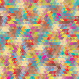 Abstract background with multicolored triangles Stock Photo