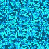 Abstract background with multicolored triangles. Vector illustration Stock Images