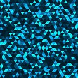Abstract background with multicolored triangles. Vector illustration Stock Image