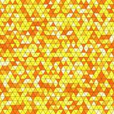 Abstract background with multicolored triangles. Vector illustration Royalty Free Stock Images