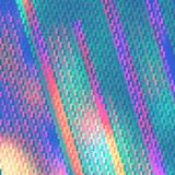 Abstract background from multiple forms. Bright geometric texture. Broken image royalty free illustration