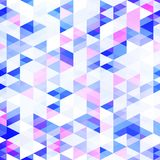 Abstract background with a multitude of triangles. Geometric pattern. The texture of the shapes Royalty Free Stock Images
