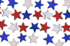 Abstract background with national stars Royalty Free Stock Image