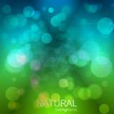 Abstract  background with nature theme. Design with place for your content, pc desktop, poster or print Stock Image