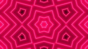 Abstract background with neon kaleidoscope royalty free illustration