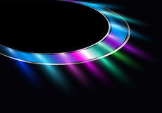 Abstract background with neon lights Royalty Free Stock Image