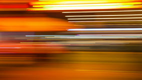Abstract Background - Neon Lights in New Orleans Royalty Free Stock Photos