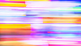 Abstract Background - Neon Lights in New Orleans Royalty Free Stock Images