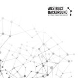 Abstract background network connect concept - vector illustratio Stock Image