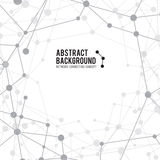 Abstract background network connect concept - vector illustratio Stock Photography