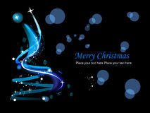 Abstract background for new year and Christmas Royalty Free Stock Photography