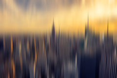 Abstract background New York panorama Royalty Free Stock Photo