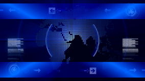 Abstract background for news stock footage