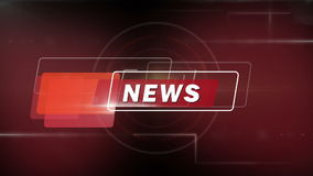 Abstract  background for news stock video